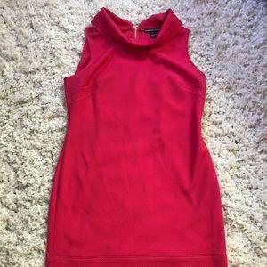 Textured Fuschia Dress